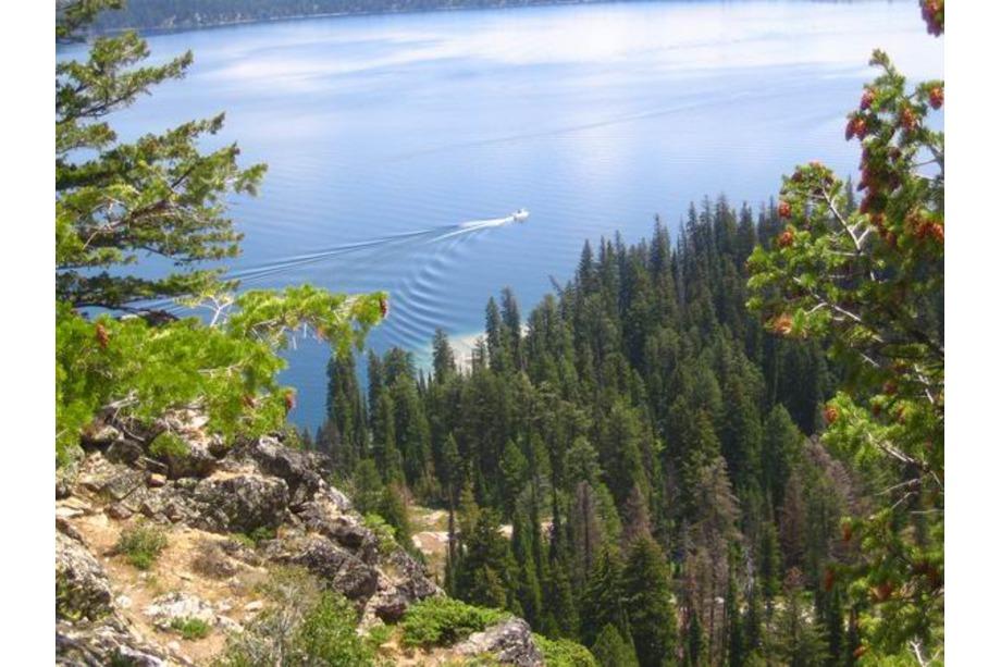 Le Jenny Lake à Grand Teton
