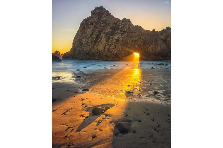 Pfeiffer Beach californie
