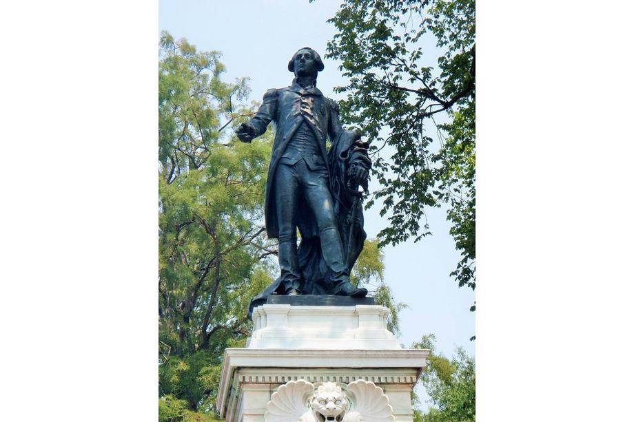 Statue de La Fayette washington