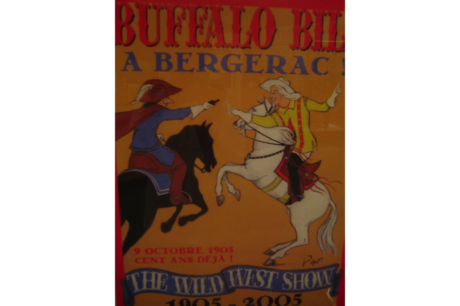 Le passage de Buffalo Bill à Bergerac