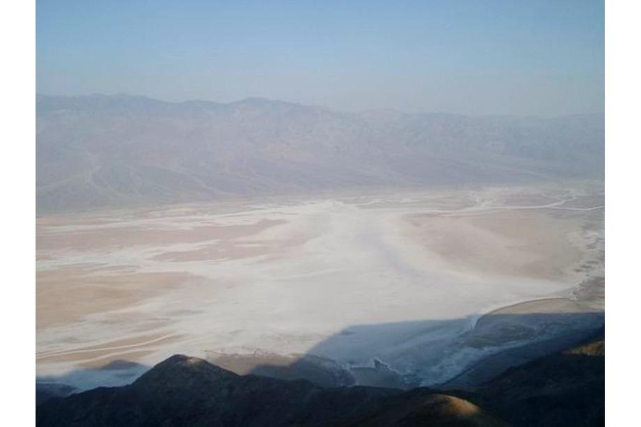 La vallée de la mort lors d'un voyage aux USA