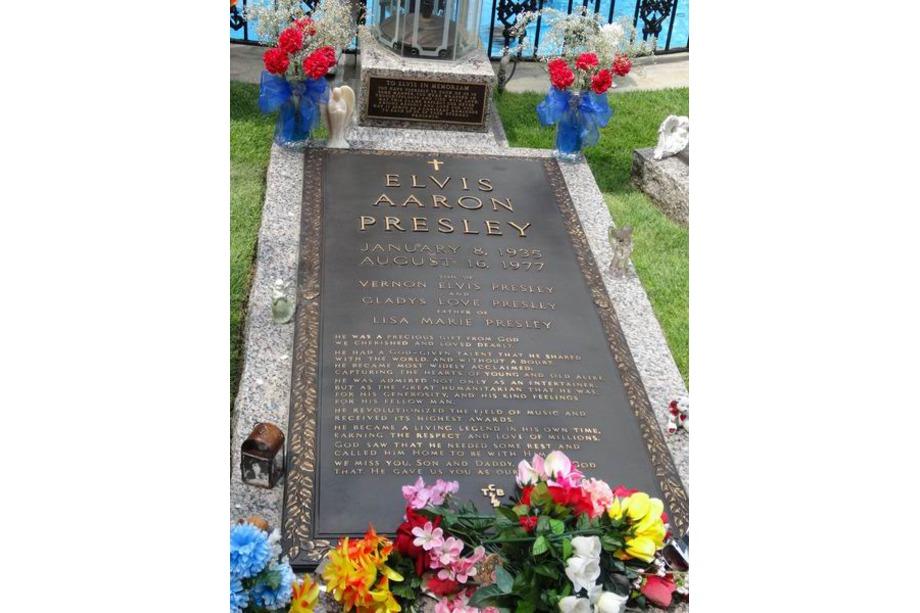 La tombe d'Elvis voyage aux usa en famille