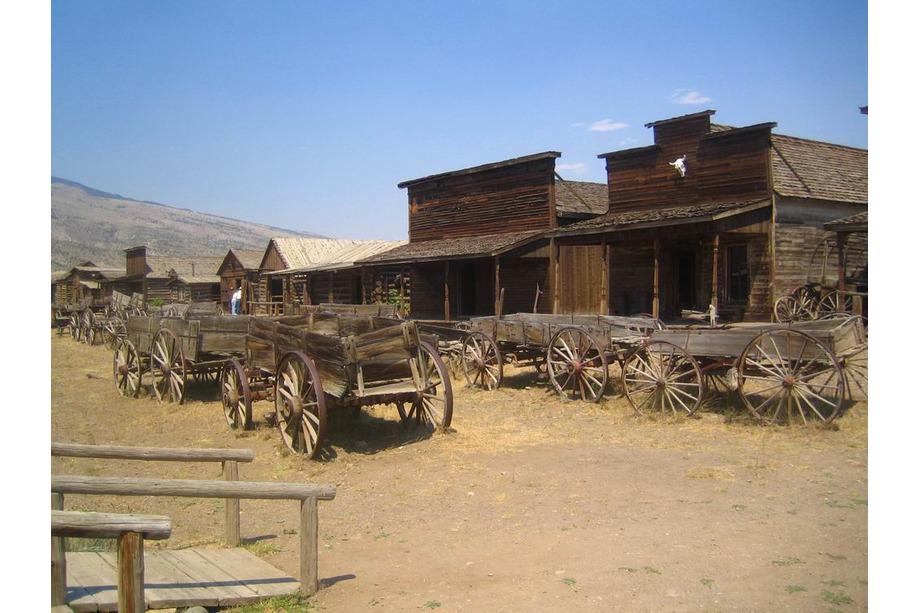 Old Trail Town à Cody