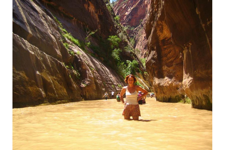 Zion national park utah The Narrows