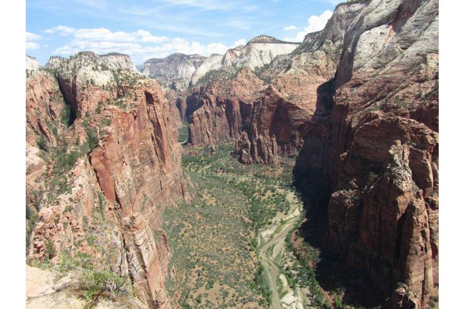 Zion national park utah angels landing