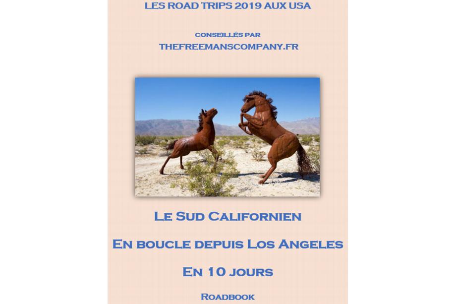 Roadbook le sud Californie en 10 jours