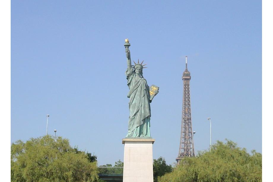 Statue de la liberté à Paris