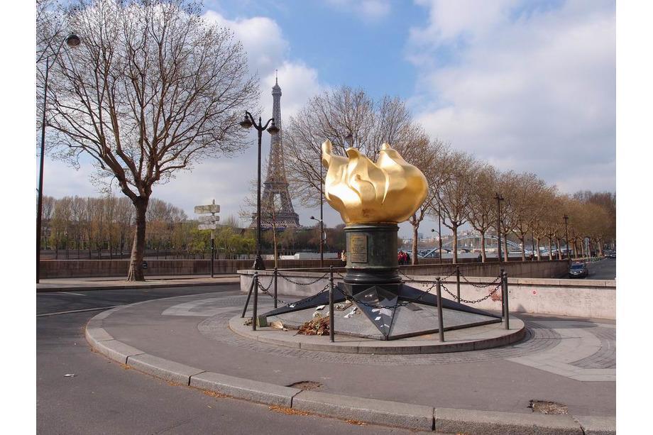 La flamme de la liberté à Paris