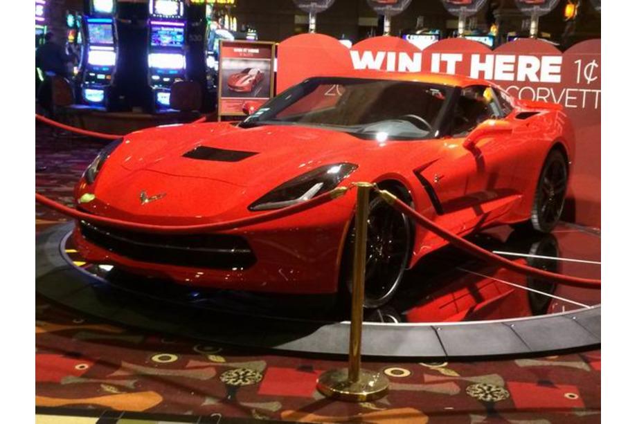 Las Vegas Corvette à gagner