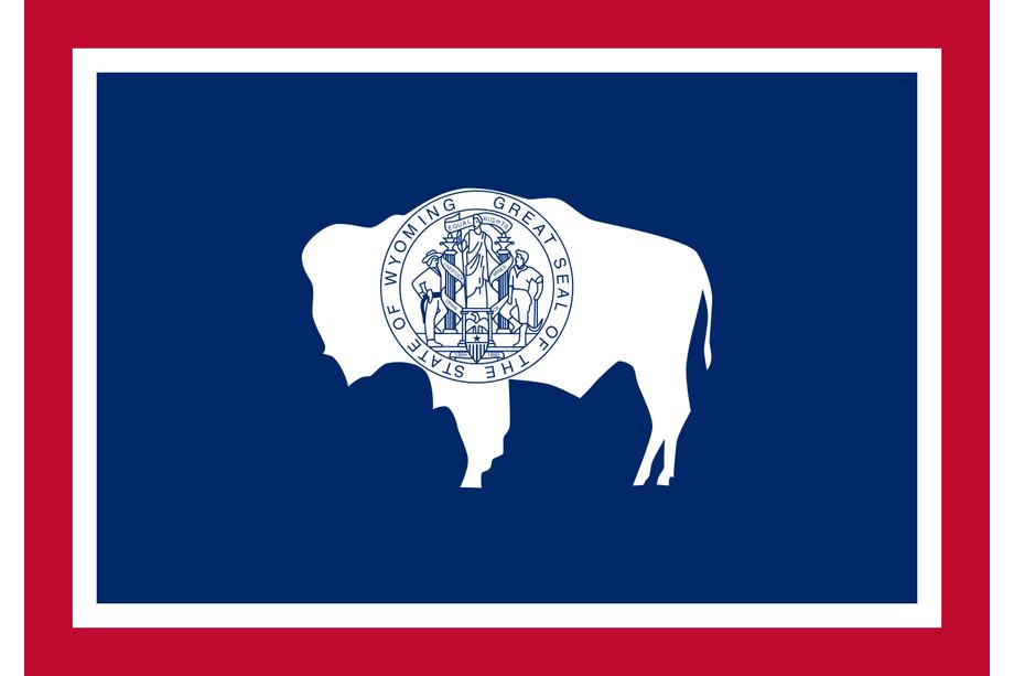 drapeau du Wyoming