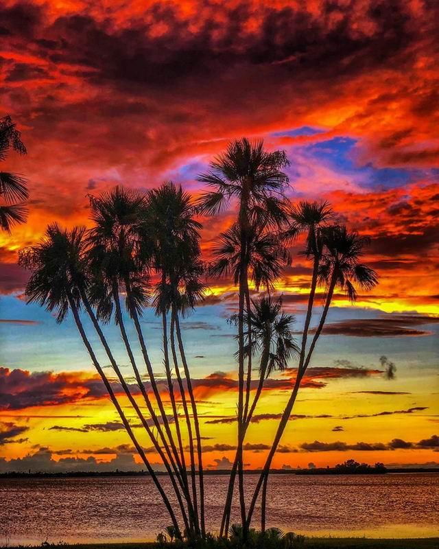 Sunset en Floride