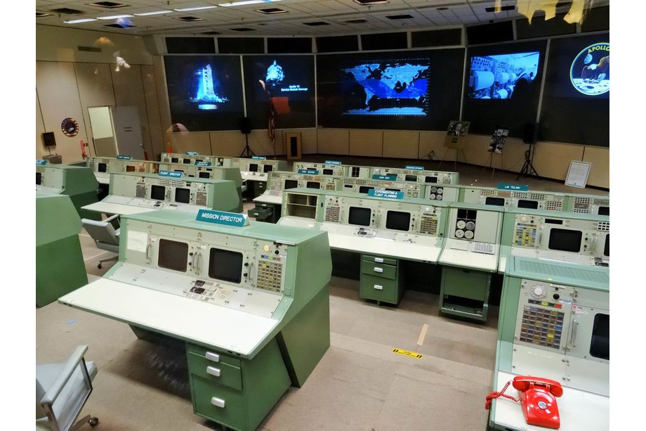 centre spatial Lyndon B. Johnson à Houston