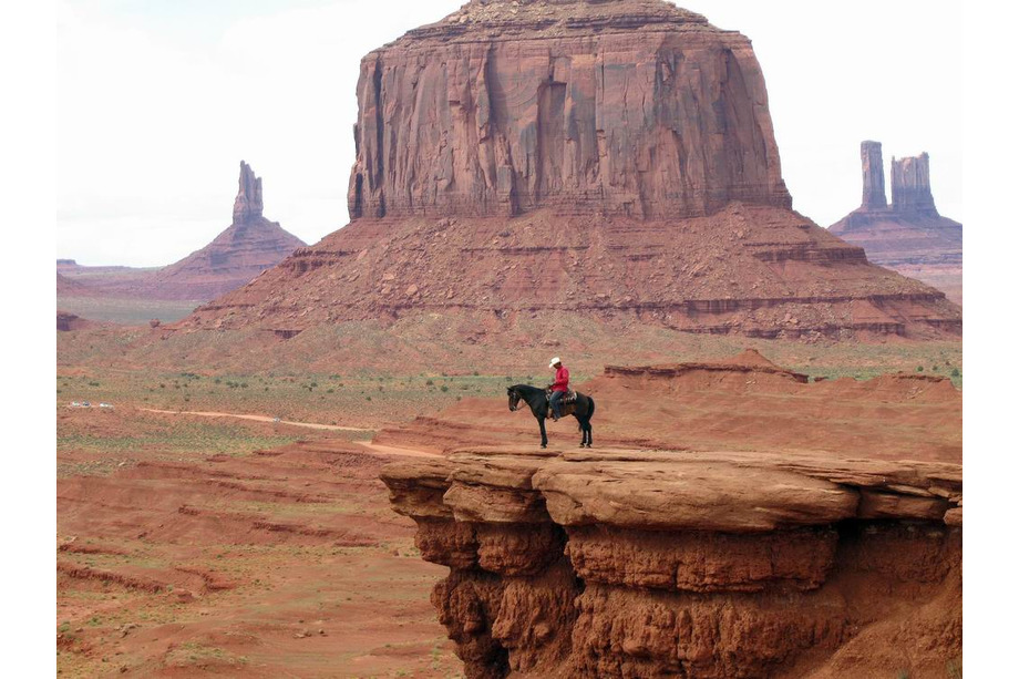 Le John Ford's Point à Monument Valley