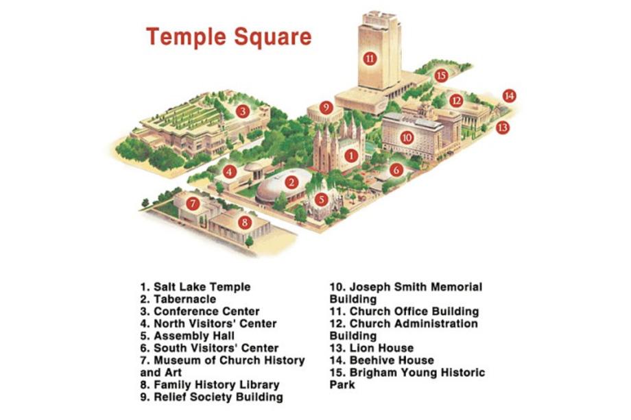 Visite de Temple Square