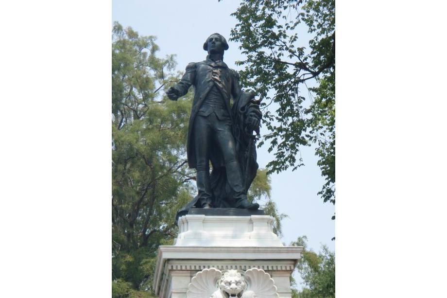 Statue de Lafayette à Washington