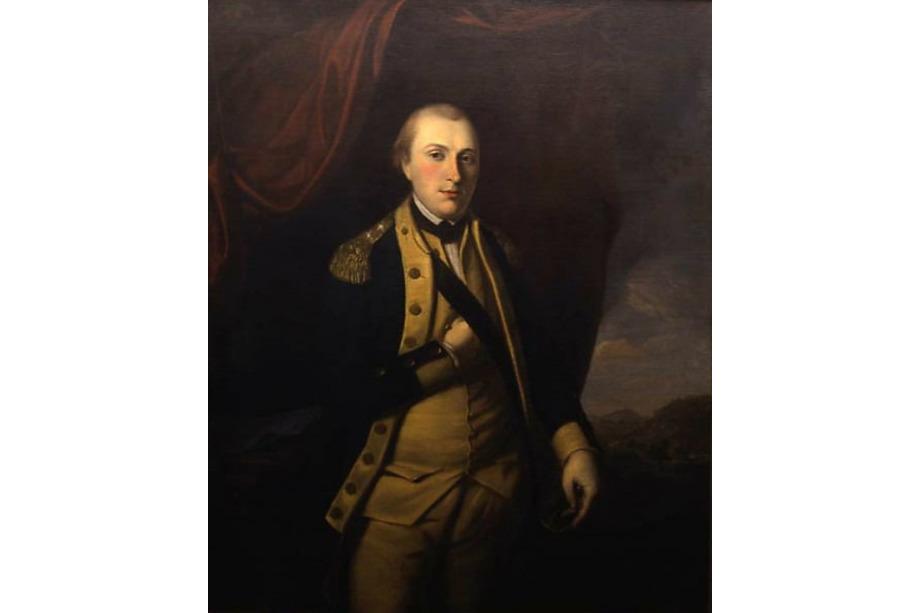 Portrait de Lafayette à Mount Vernon