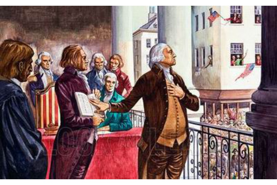 Investiture de George Washington