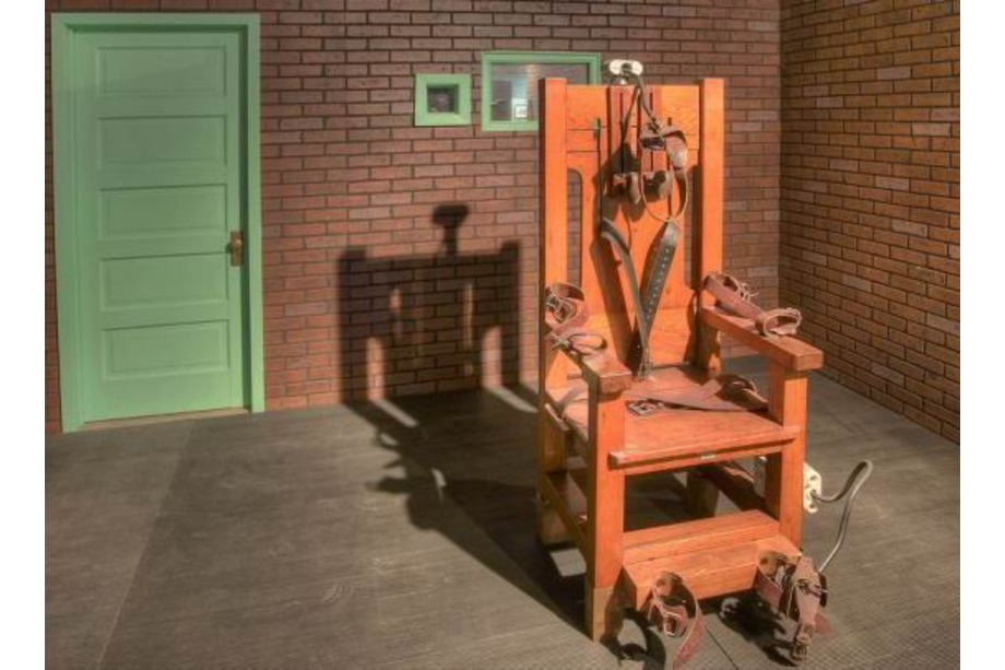 """Old Sparky"" au Texas Prison Museum"