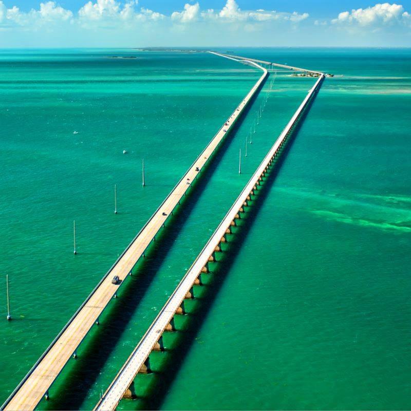 seven miles bridge en floride