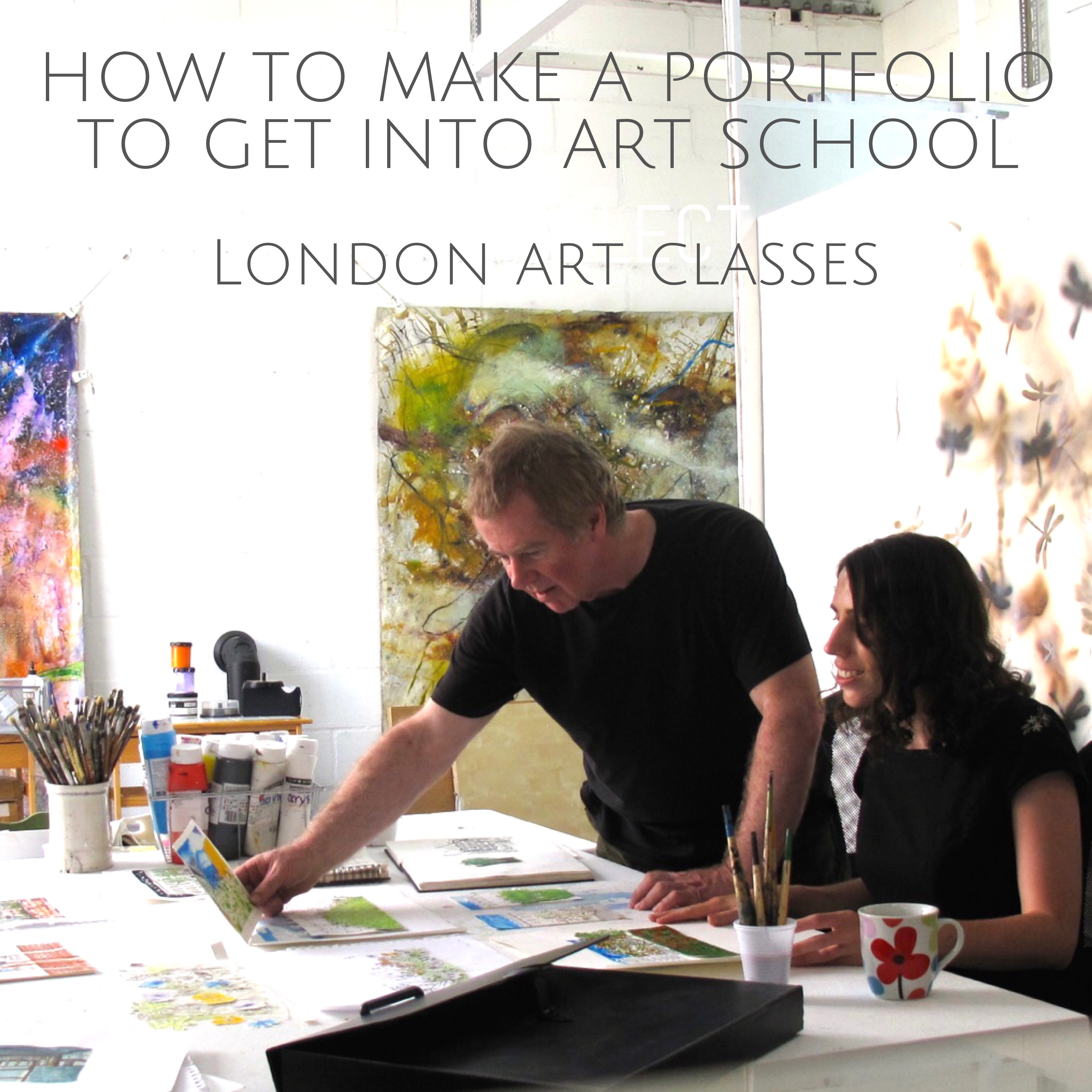 Art Portfolio Preparation London