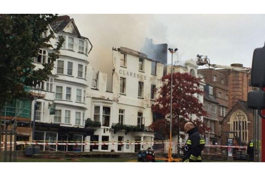 Totnes Museum - Exeter Fire