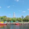 Blick auf Westerplatte