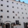 Hotelfassade in Toruń