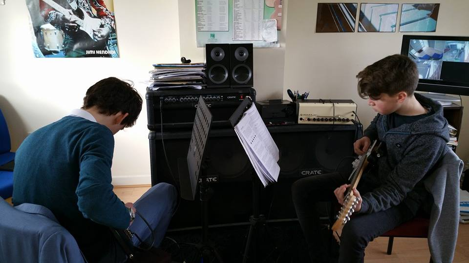 Guitar Lessons are taking over local music school