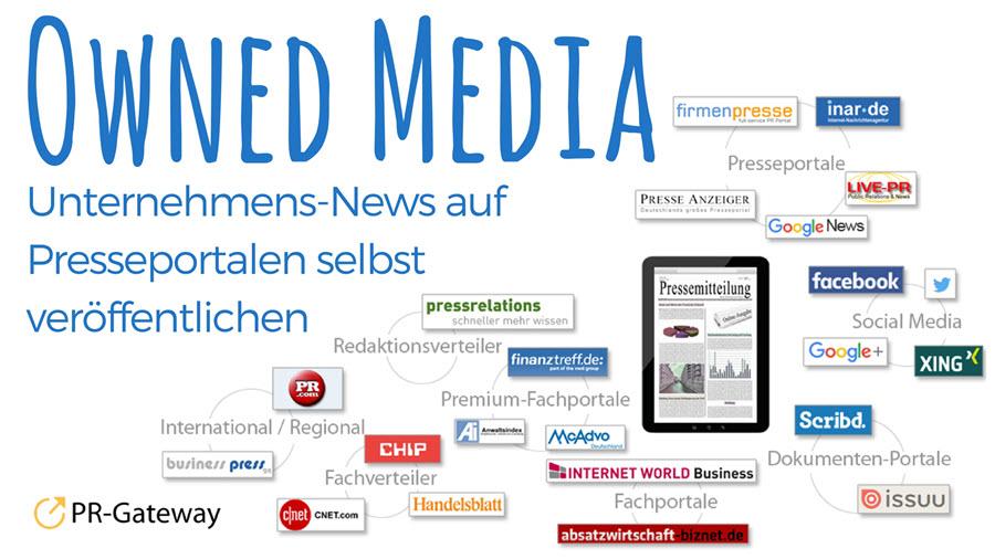 Owned Media – Unternehmens-News auf Presseportalen