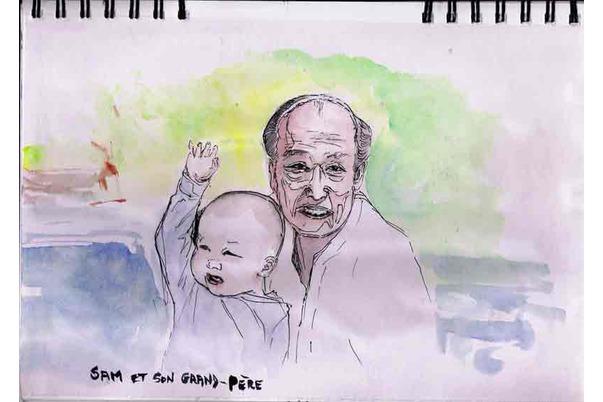 Sam et son Grand-Père