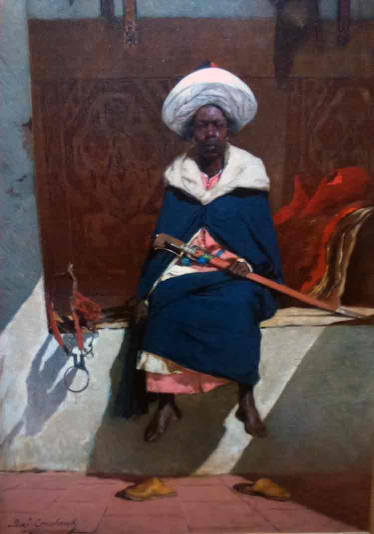 Le caïd marocain Tahamy