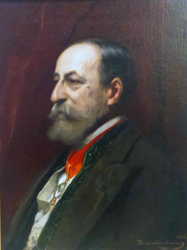 portrait de Camille Saint-Saêns, 1898
