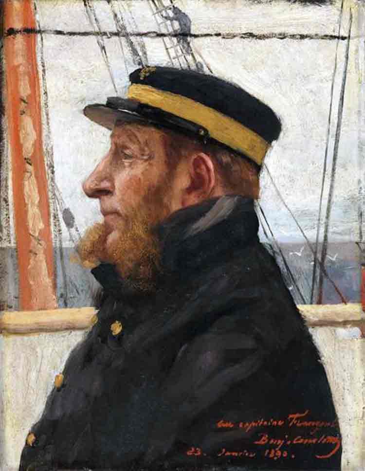 Portrait du capitaine Frangeul