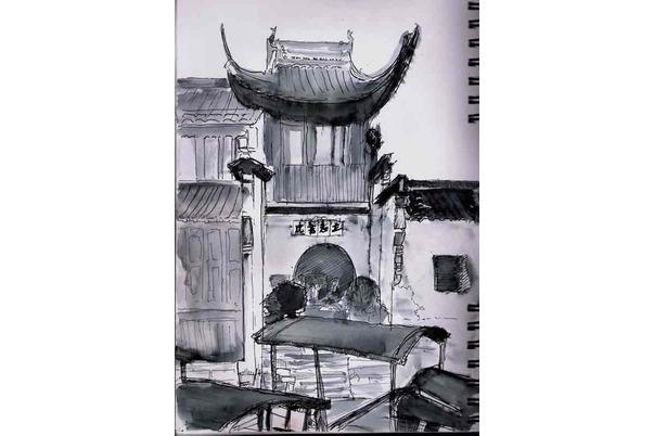ancienne maison à Wuzhen