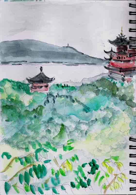 à Ziyang Hill, 19 juin