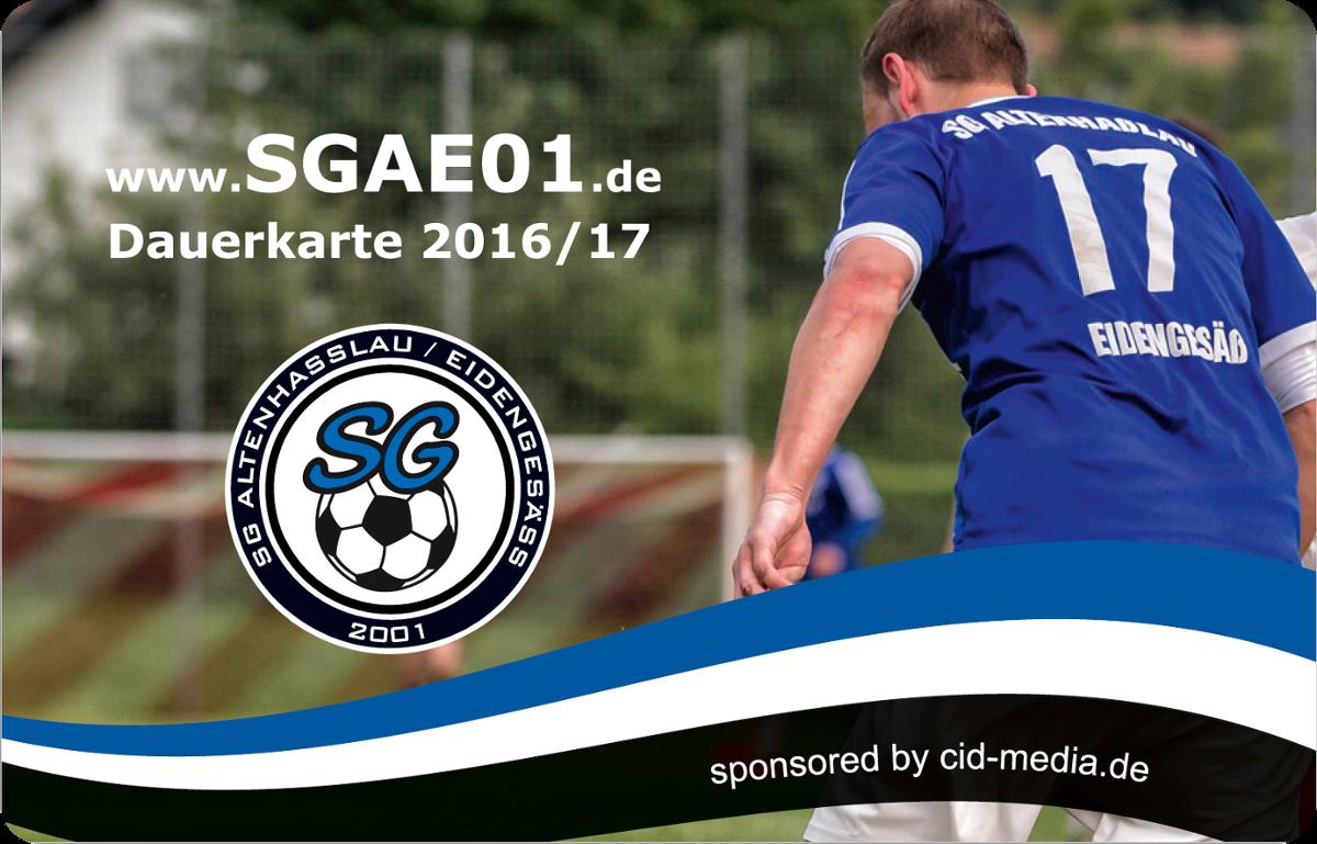 SGAE-Dauerkarte 2016/2017