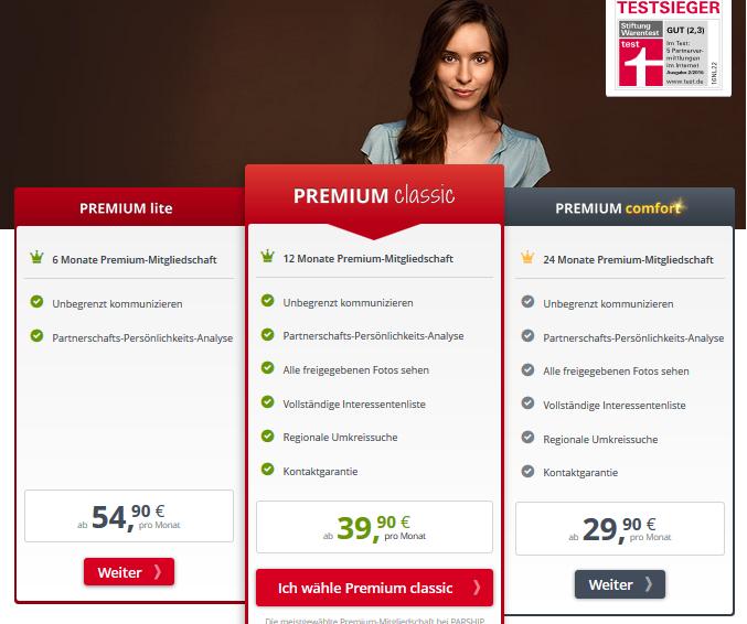Parship-Preise