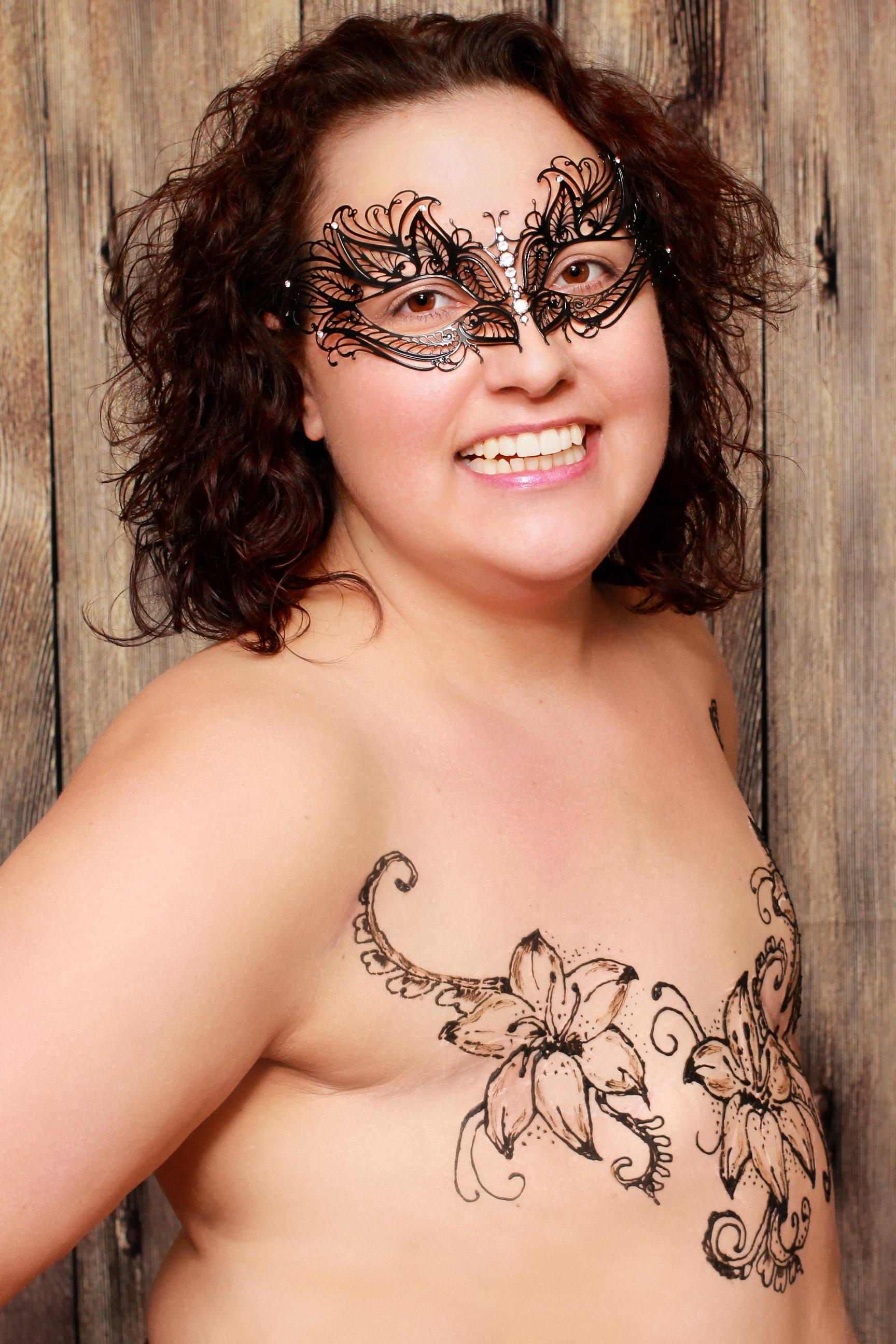Butterfly-Maske