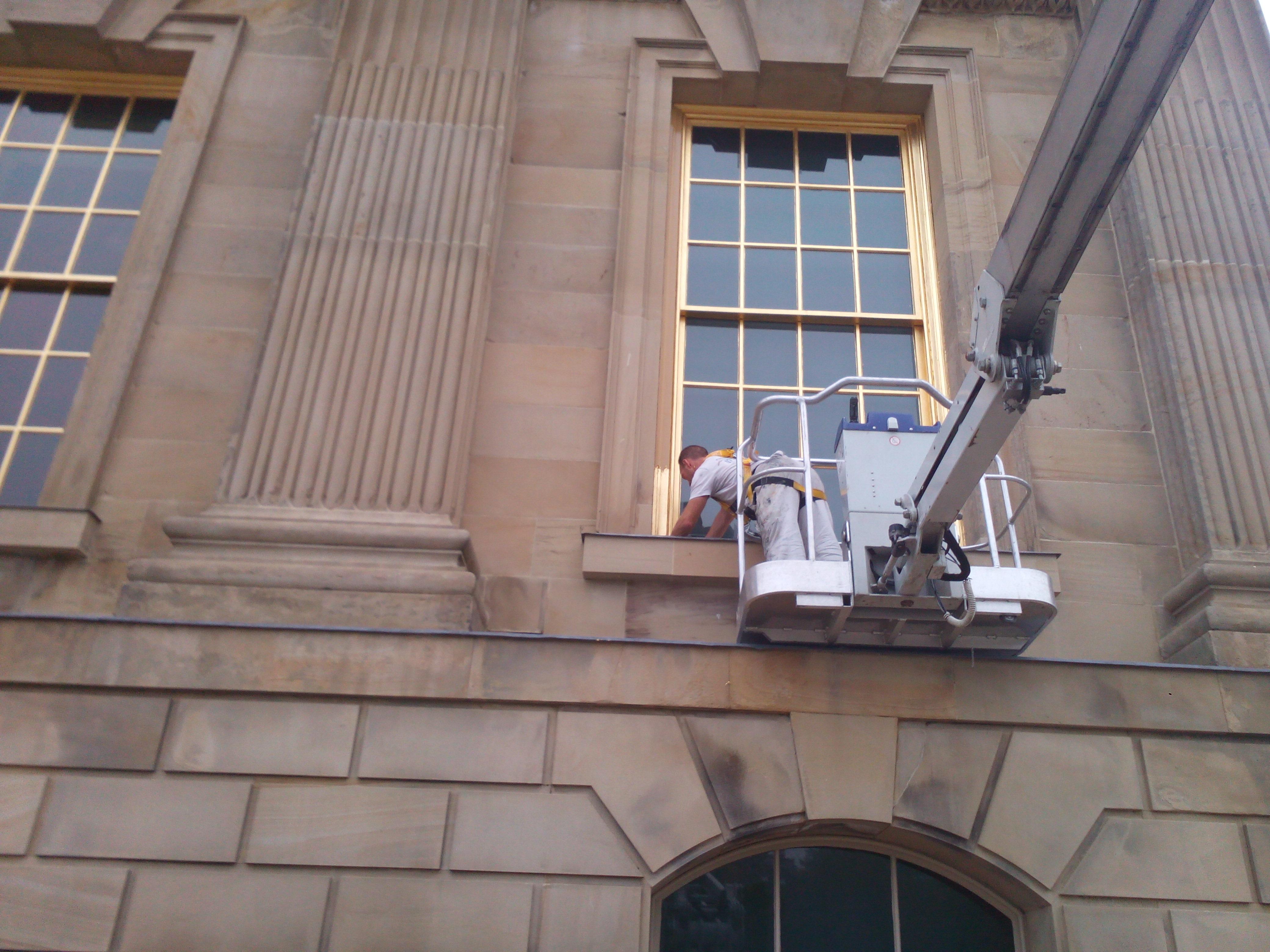 #GoldGilding the last of the 42 windows!
