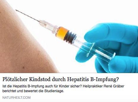Impfschaden Impfausleitung Chance