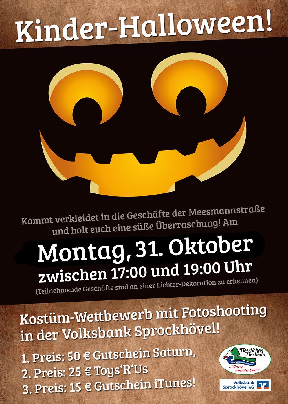 Halloween der Werbegemeinschaft 2016