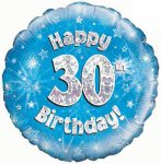 30th Birthday Balloon in a Box