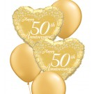 50th Anniversary Balloon Bouquets