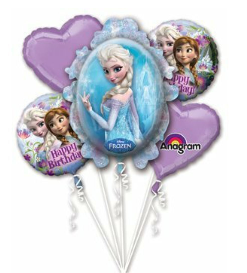 Frozen Large Balloon Bouquet