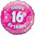 16th Birthday Balloon in a Box