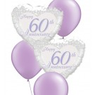 60th Anniversary Balloon Bouquets