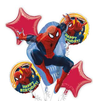 Spiderman Large Balloon Bouquet