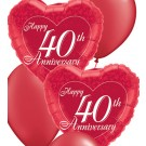 40th Anniversary Balloon Bouquets