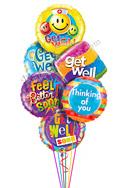 Get Well Large Balloon Bouquet