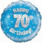 70th Birthday Balloon in a Box
